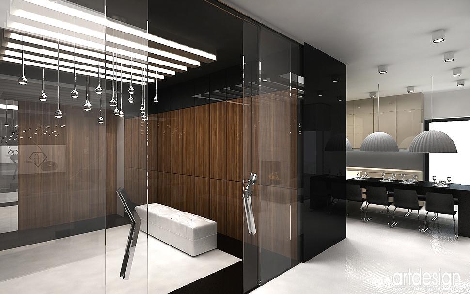 luksusowe wnętrze domu - doskonały projekt architektury wnętrz