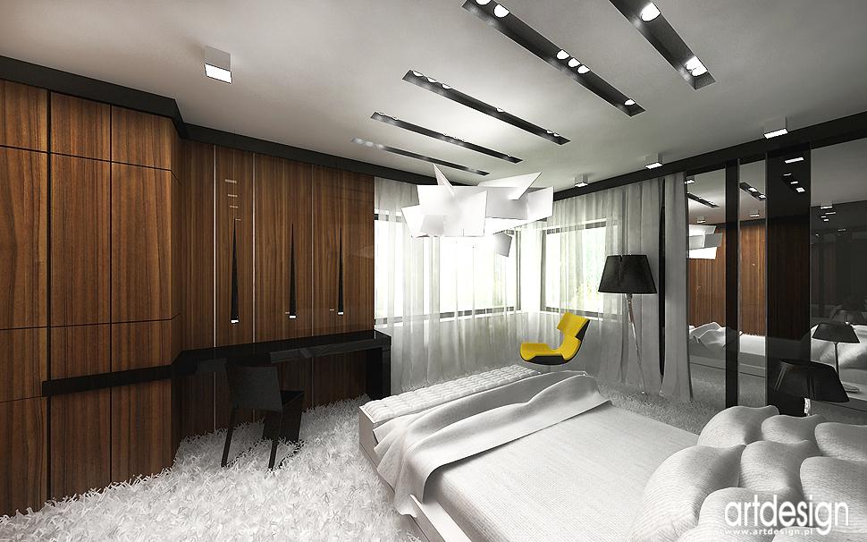 projektowanie wnętrza luksusowej sypialni