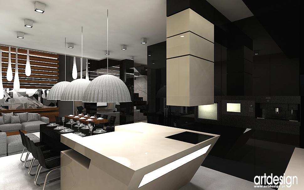 projektowanie wnętrza kuchni - aranżacje