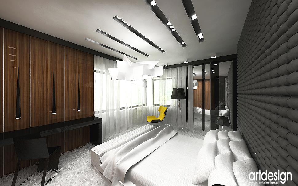 sypialnia - nowoczesne aranżacje wnętrz