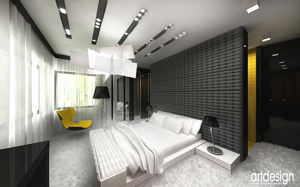ekskluzywne wnętrza domow, rezydencji - sypialnia