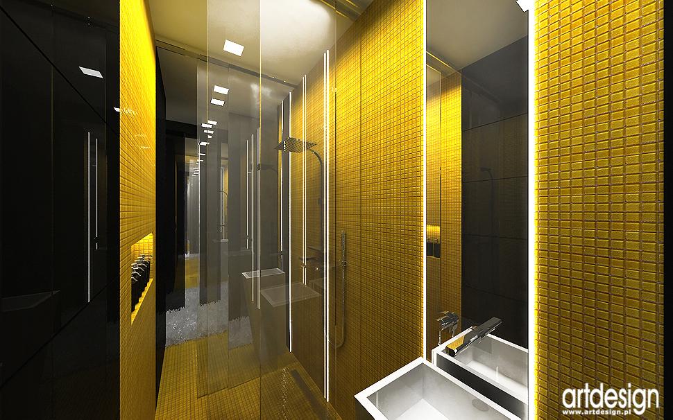 oryginalne wnętrze łazienki - aranżacja