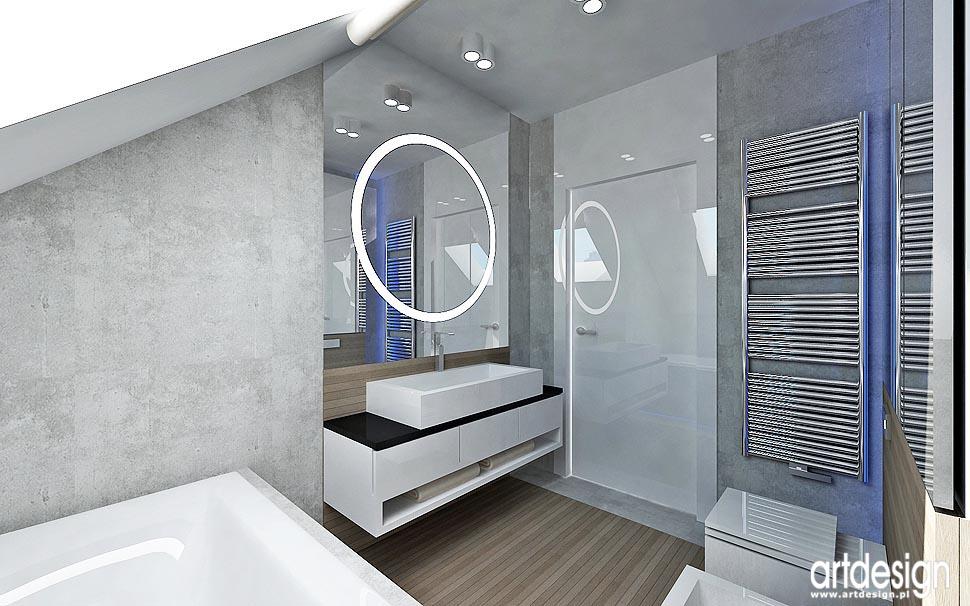 dom lublin � wnętrza � �azienki sypialnia