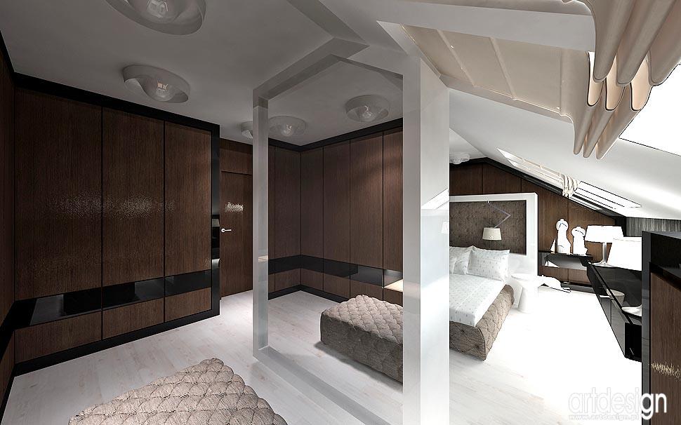 Nowoczesny Design Wnętrz Projekt Sypialni łazienki I