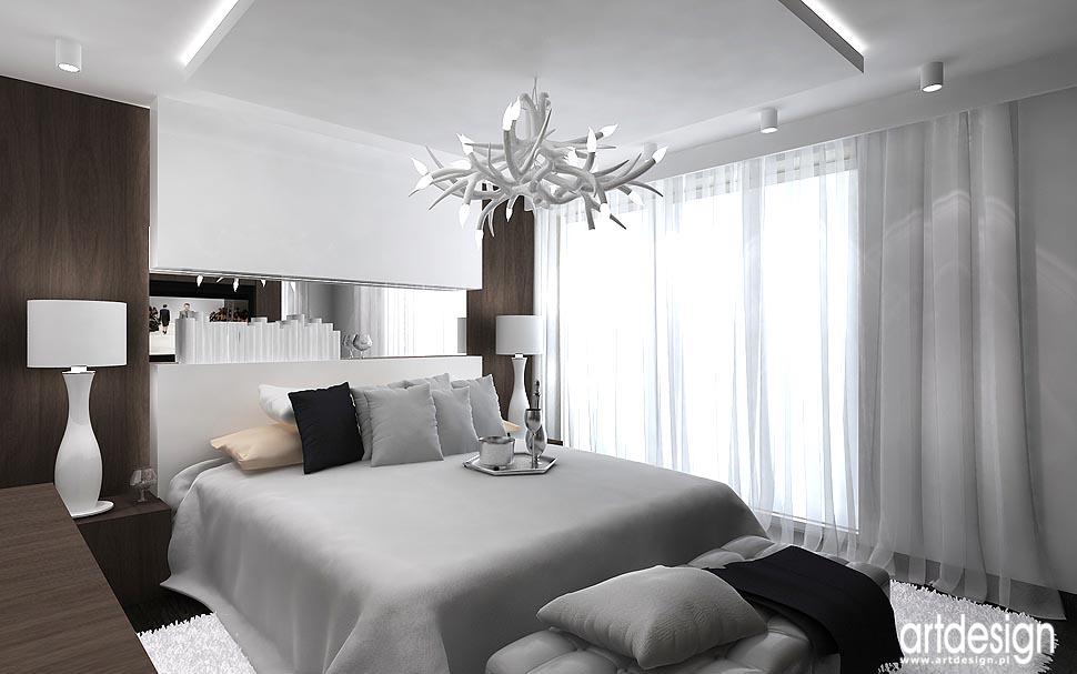 Apartament w Wiedniu. Architektura wnętrz sypialnia ...