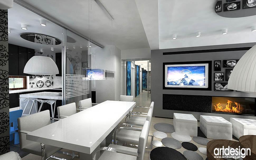 apartament krak243w � projekt wnętrz projektowanie wnętrz