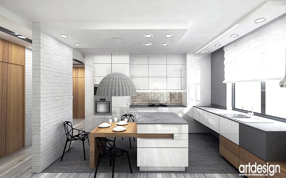 wnetrze projekty apartament design