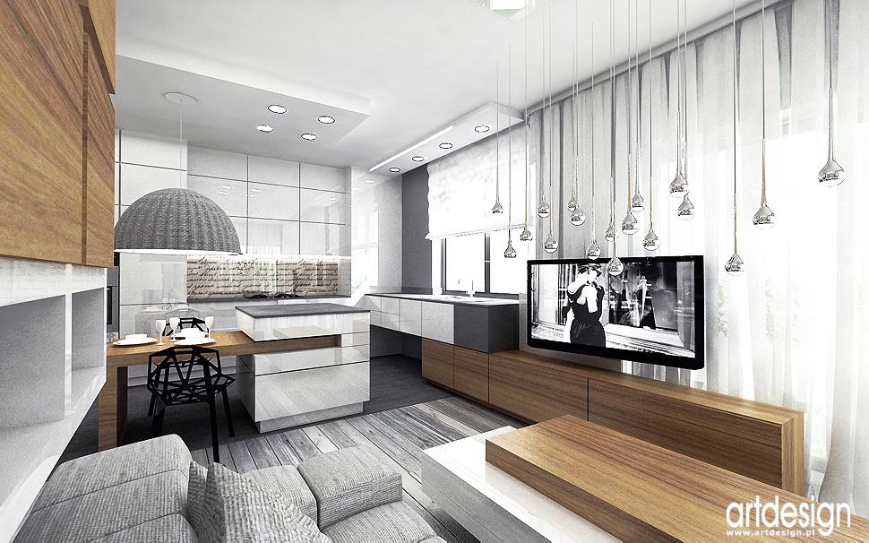 projekt wnetrza apartament design