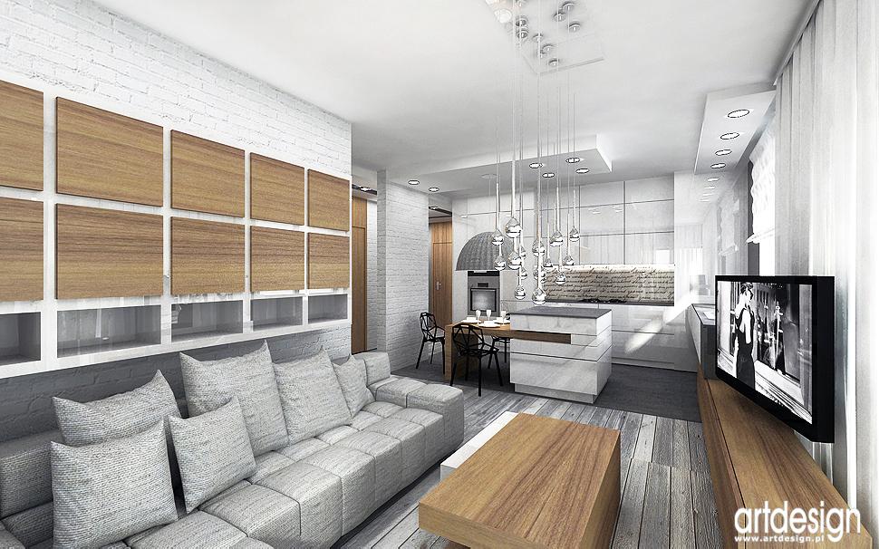 projekt wnetrz apartament design