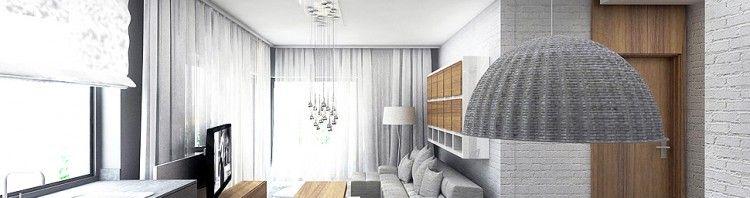 architektura wnetrz apartament minimalizm