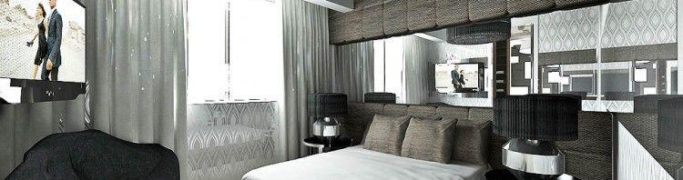 wnetrz sypialni projekty nowoczesny design