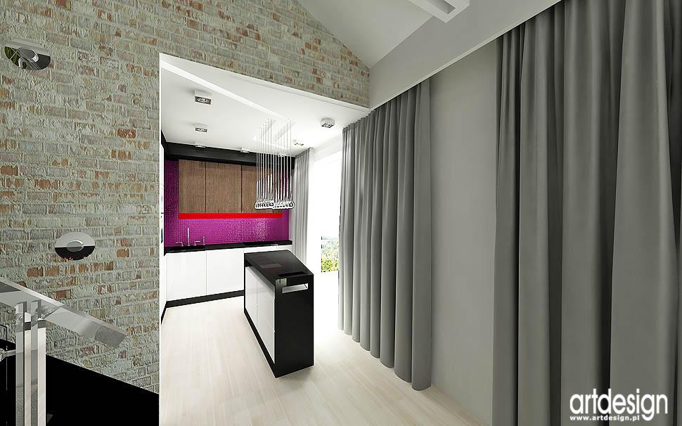 wnetrza apartament loft design projekt vintage