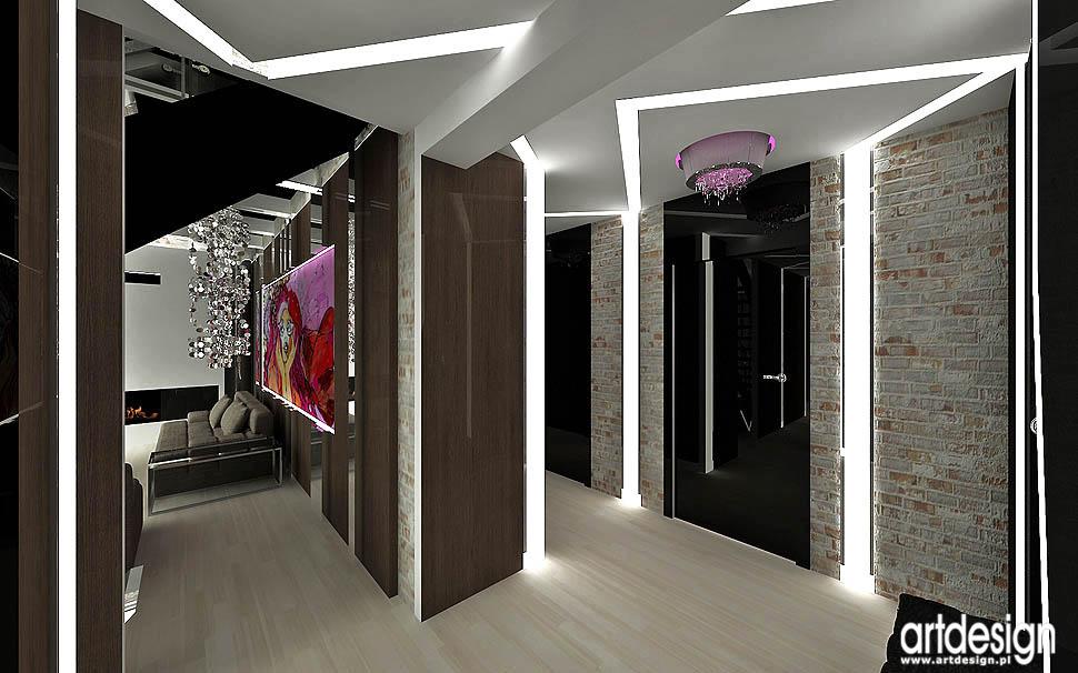 wnetrza projekty architekci design loft vintage glamour