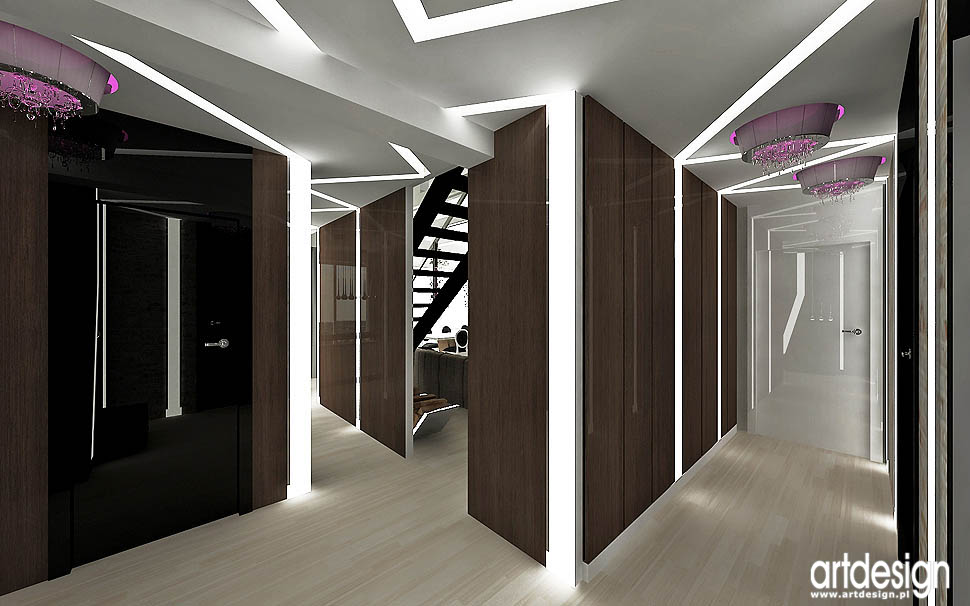 wnetrza apartamentu styl loft vintage glamour