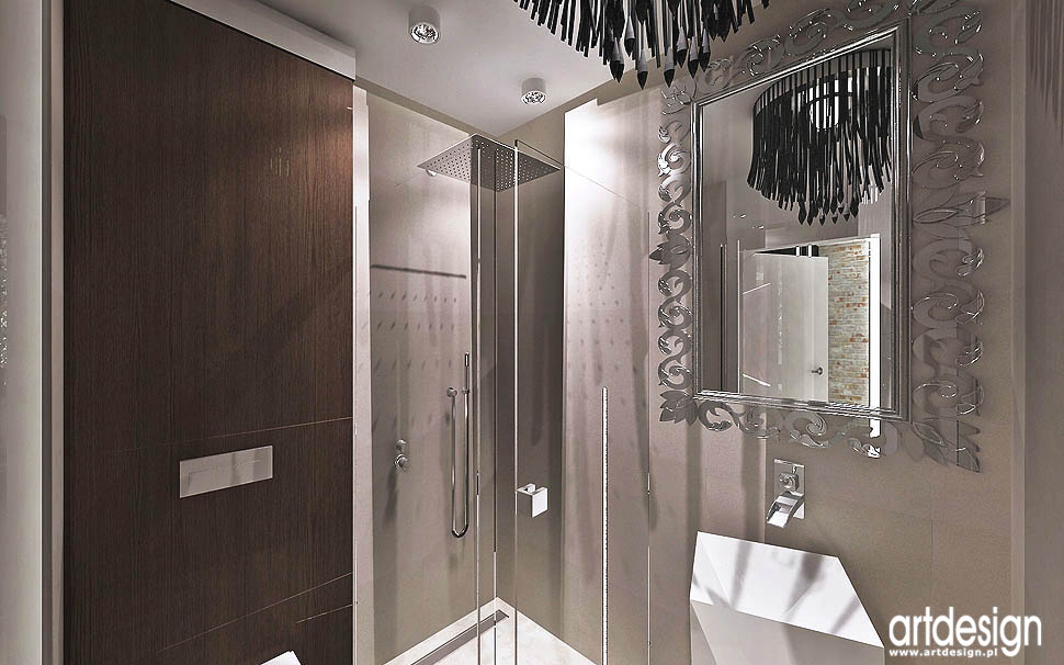 aranzacja wnetrza design loft glamour apartament