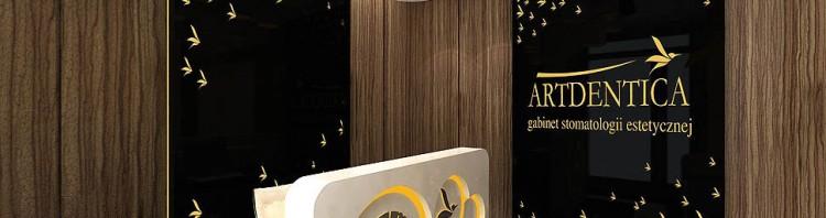 gabinet stomatologiczny klinika wnetrze projekt architektura aranzacja recepcja