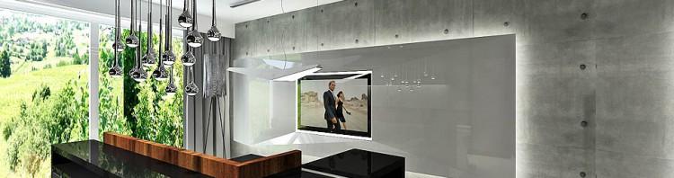 wnetrze apartament mieszkanie nowoczesna architektura aranzacja