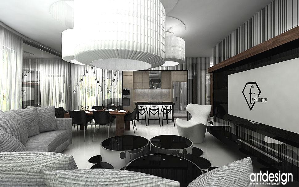 salon z kuchnia jadalnia aranzacje wnetrz architekt doskonale wnetrza