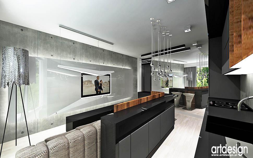 projekt wnętrz � apartament warszawa projektowanie