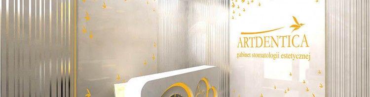wnetrze gabinet stomatologia medyczny projekt aranzacja design glamour