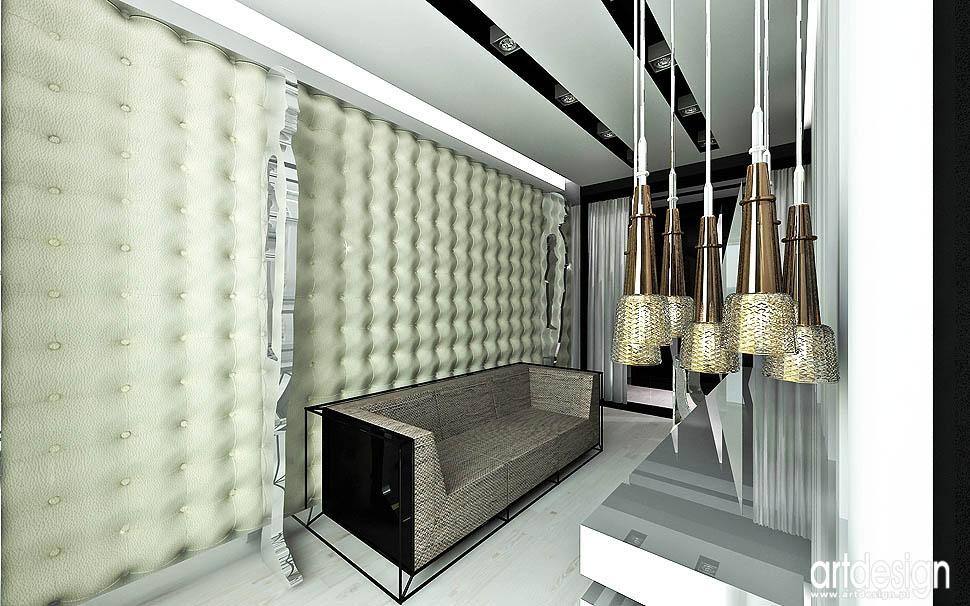 projektanci wnetrz design apartament pokój dla gości