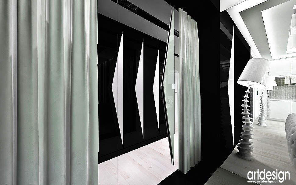 projektanci wnetrz projekty design luksusowy hol