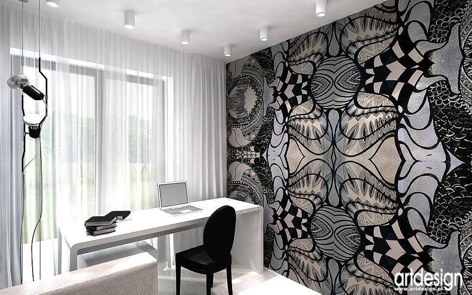 wnętrza klasyczny design miejsce do pracy w mieszkaniu