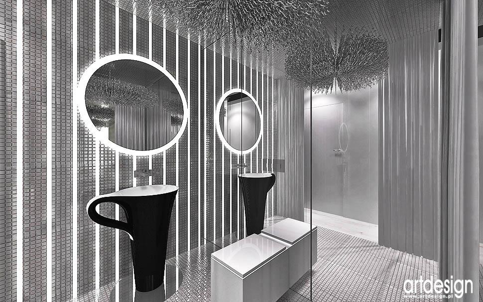 projektowanie wnetrz nowoczesnych apartamentow łazienki