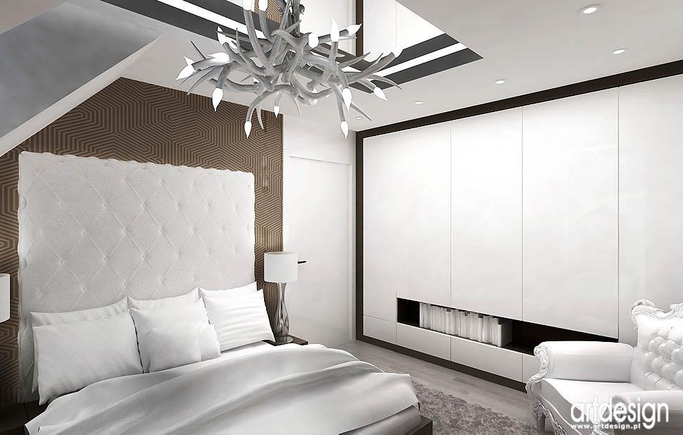 architektura sypialnia wnetrze design