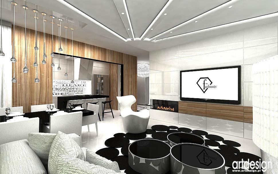 architektura wnetrza apartamentu