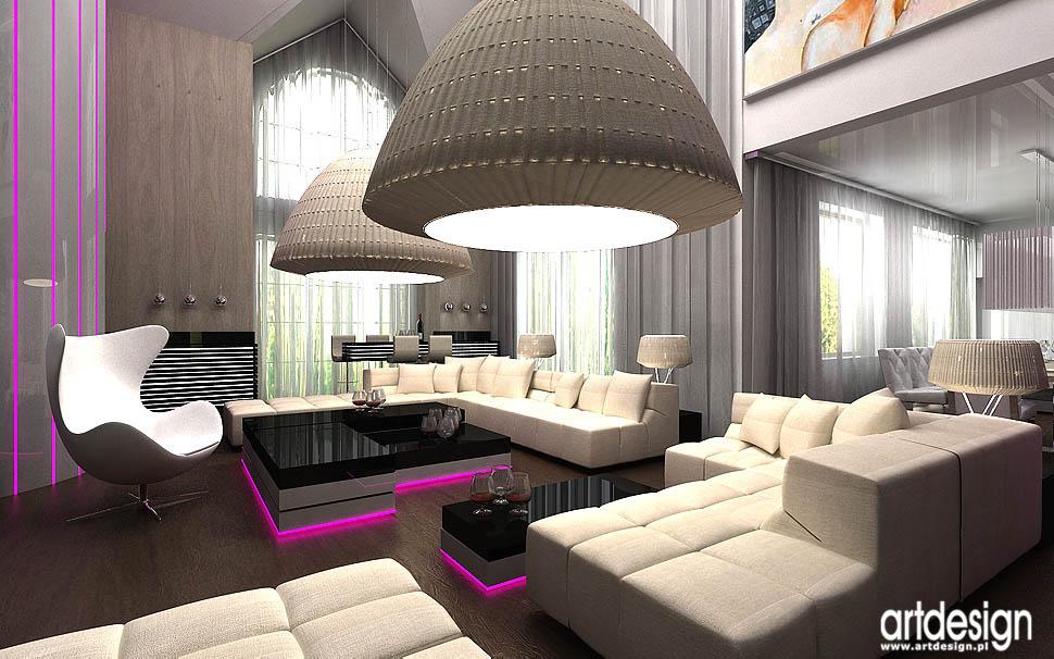 architektura wnetrz rezydencji salonu luksusowe