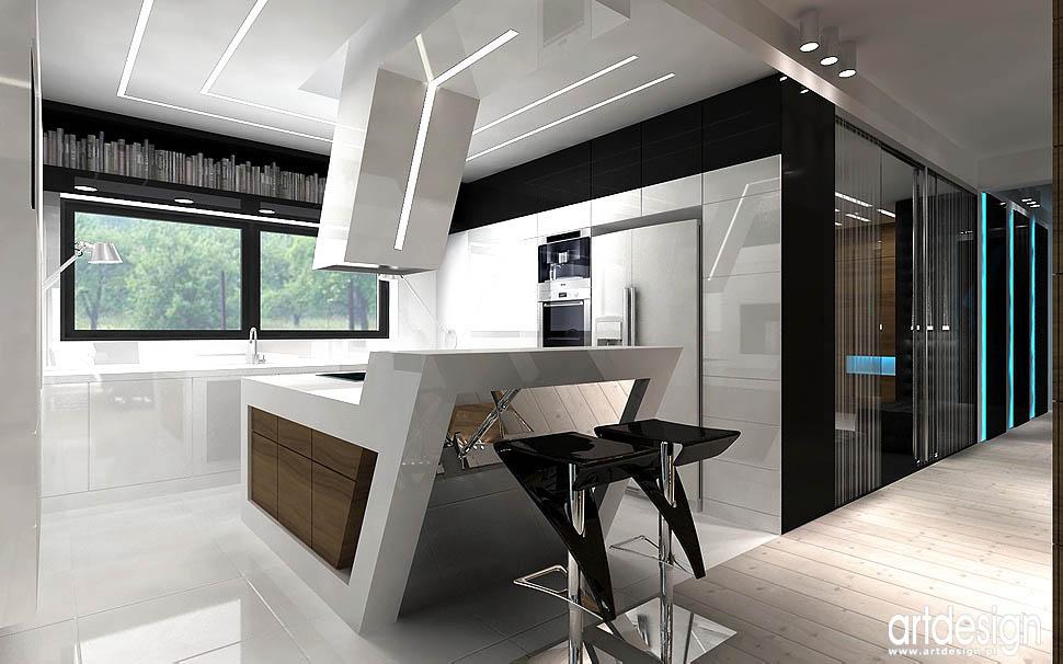 wnętrze domu pozna� projektowanie wnętrz artdesign