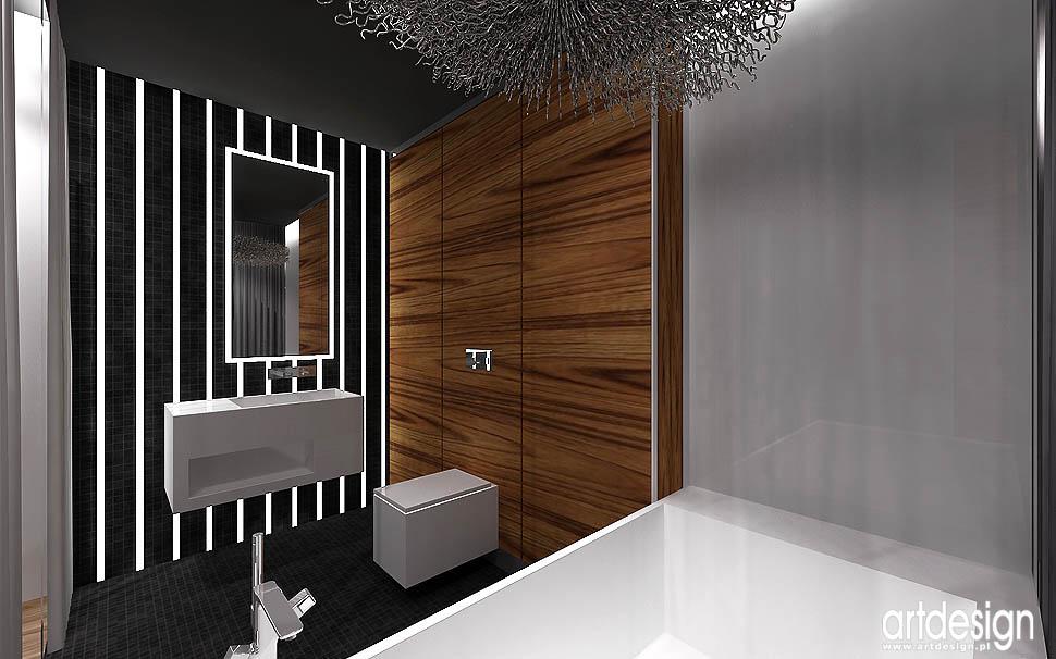 nowoczesny design wnętrz łazienek projekty