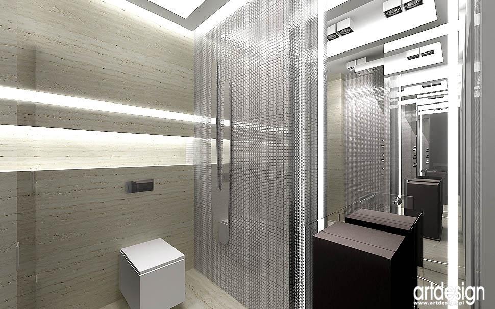 wysublimowane wnętrza projekty łazienki salon kąpielowy