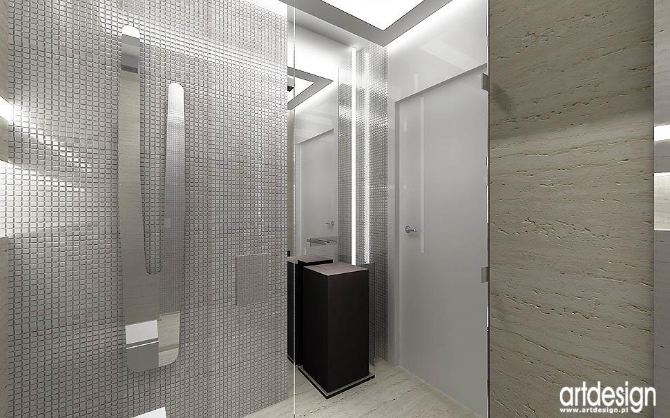 nowoczesne wnętrza projekty łazienek