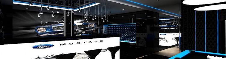 wnętrze bilard relaks bar w domu projektowanie