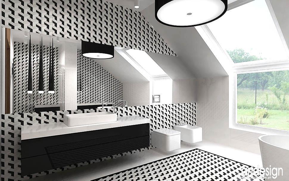 łazienka projekty nowoczesne wnętrza