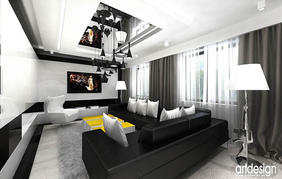 aranzacja wnętrze design pokój dzienny