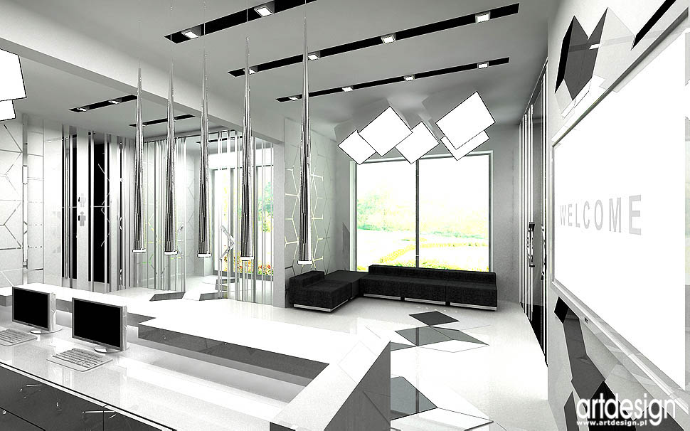 nowoczesne biuro projekty