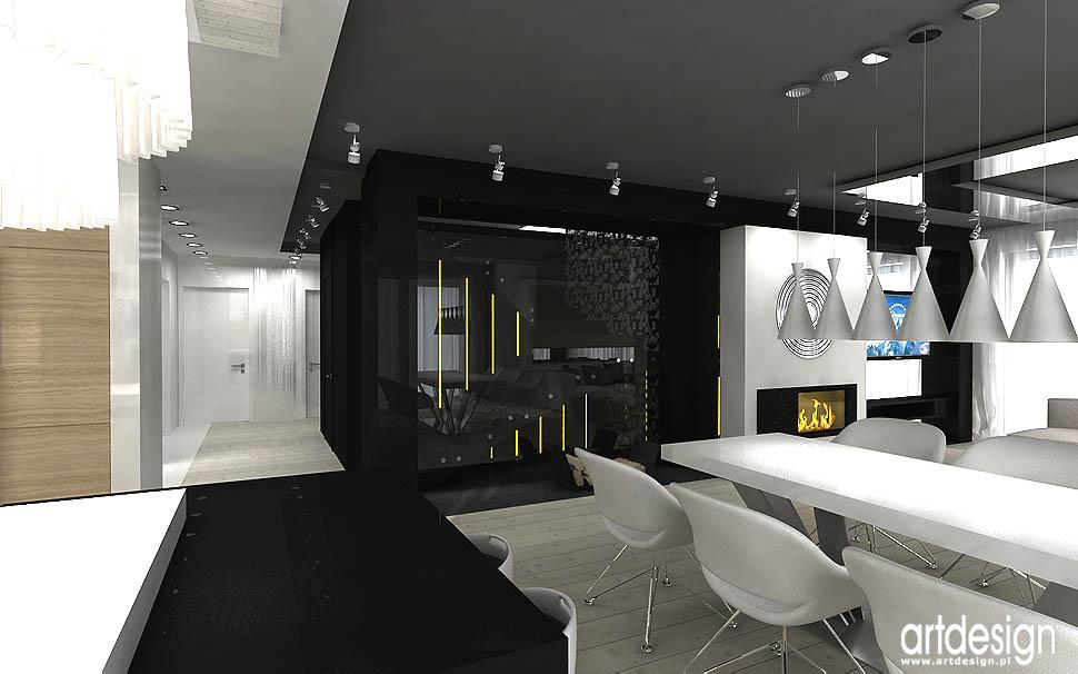 projektowanie aranżacja wnętrza Kraków salon