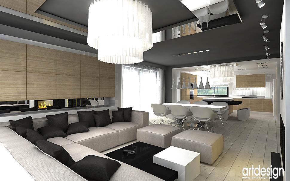Creative Wnętrza Domu Projektowanie Wnętrz Artdesign