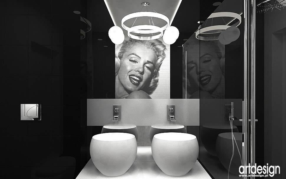 projekty najlepszy design wnętrza łazienek