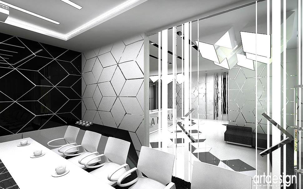 wnętrza biurowców design