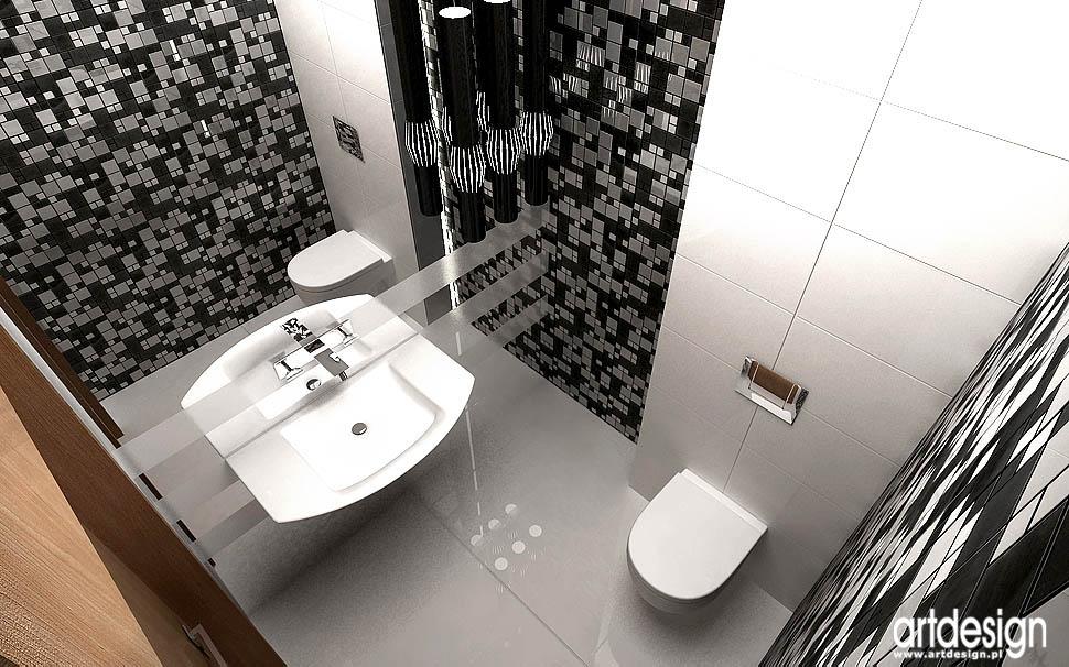 projekt nowoczesnej łazienki design