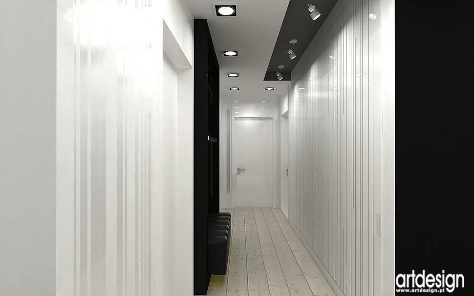 wnętrza domów projekty aranżacje