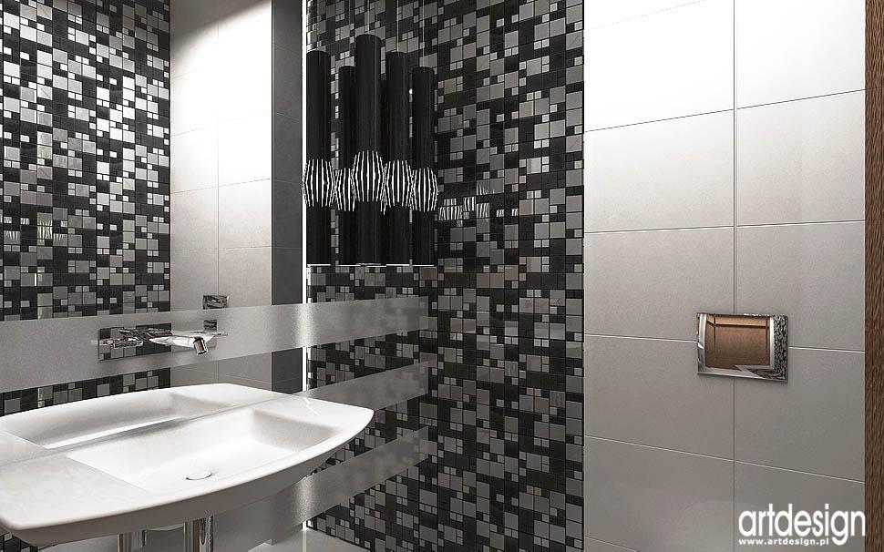 nowoczesna łazienka design projekt
