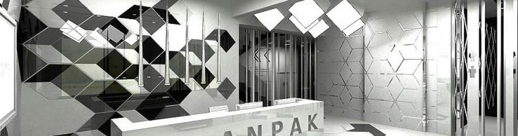 projekt wnetrz biurowych recepcja
