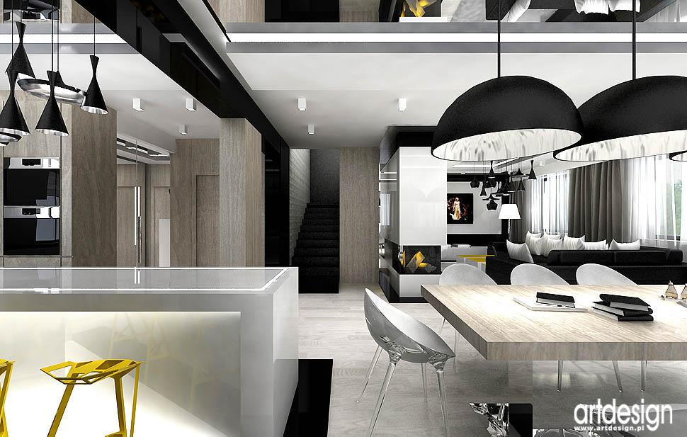 wnętrza nowoczesne domów