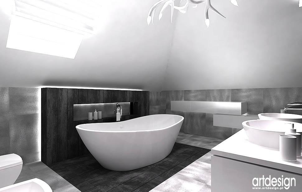 łazienka projekty wnętrza