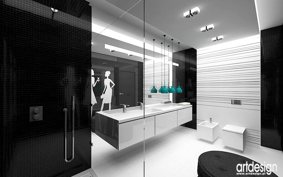 projekt wnetrz aranżacje łazienki